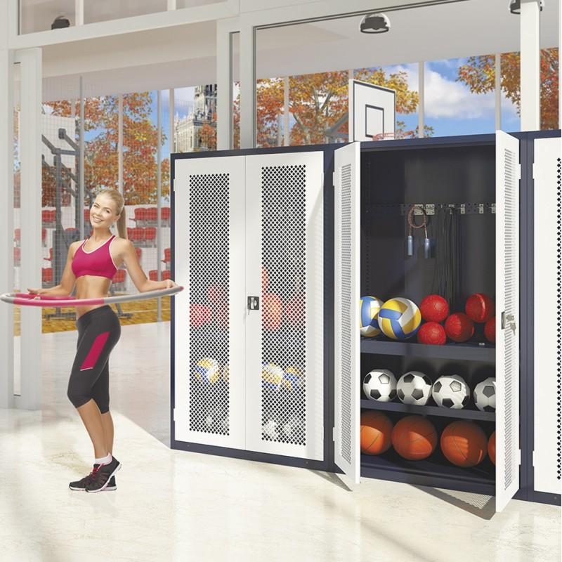 Armoire salle de sport
