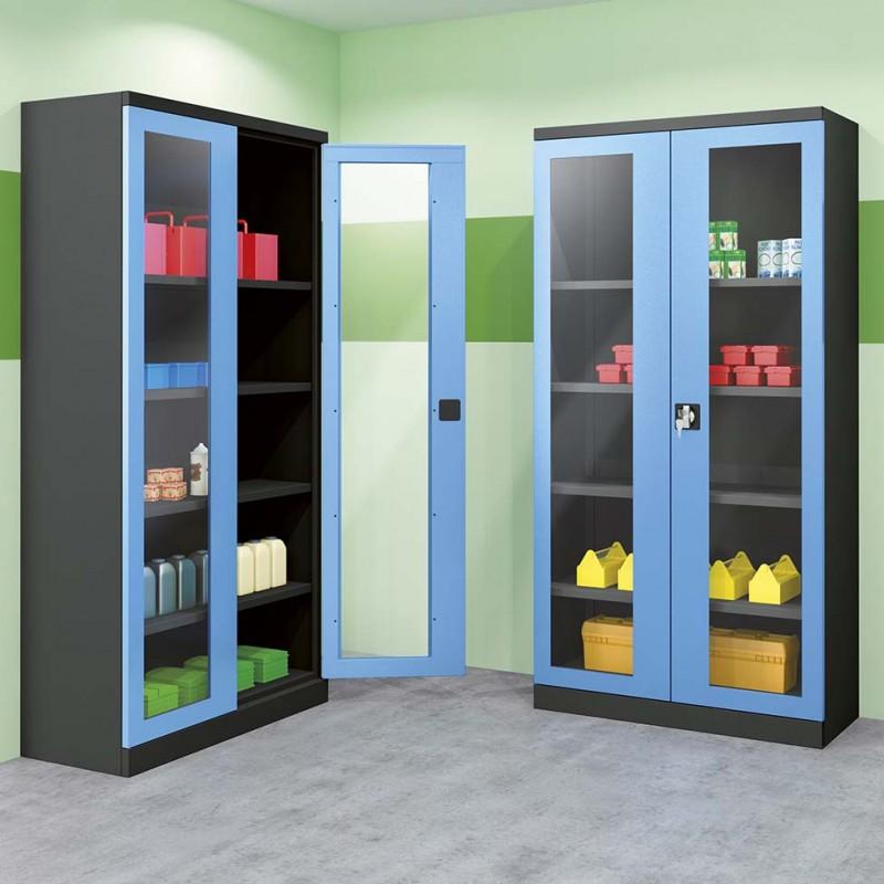 Armoire portes Plexiglas