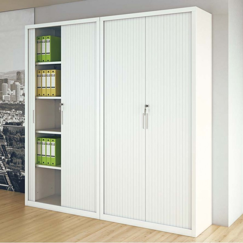 Armoires portes à rideaux